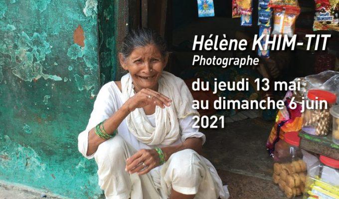 Affiche exposition Hélène Khim-Tit_mai 2021