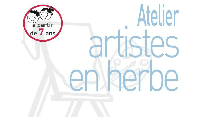 illustration atelier artistes en herbe