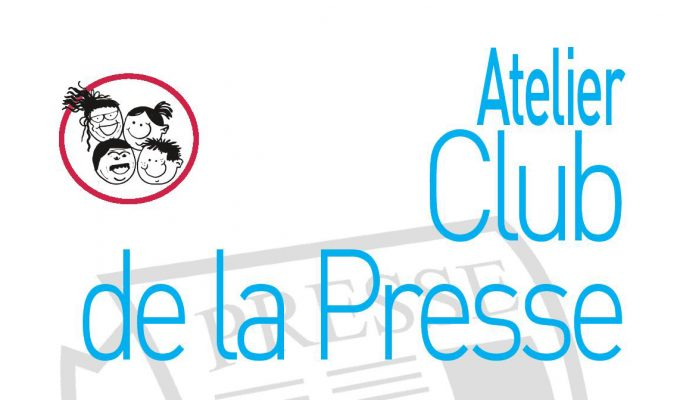 illustration atelier club de la presse