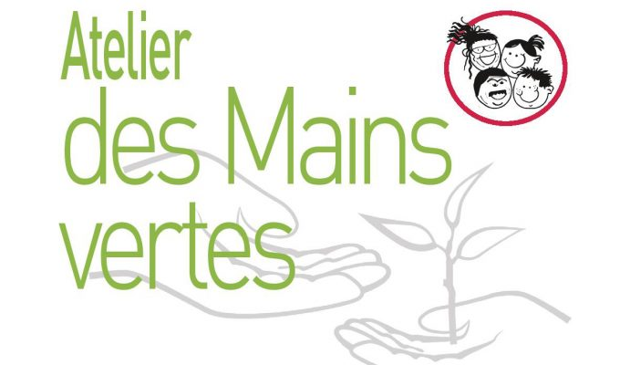 illustration atelier des mains vertes